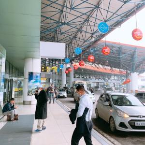 ベトナム ハノイ ノイバイ空港 国際線ターミナルから国内線ターミナルへの移動