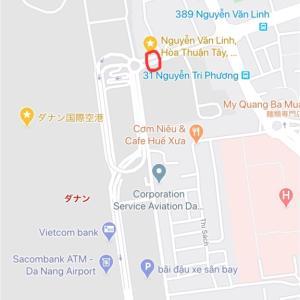 ベトナム ダナン空港からホテルまではGrabで約500円だった
