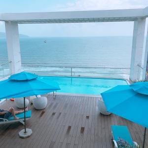 ベトナム  ダナンで利用したビーチ沿いのホテル