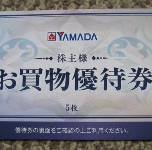ヤマダホールディングスの株主優待が到着