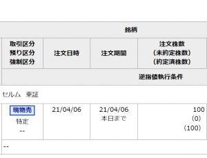 IPO セルム 1,545円で売却