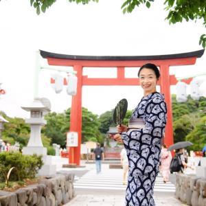 浴衣でジャックぼんぼり祭り2021 in 鎌倉鶴岡八幡宮に参加してきました♡