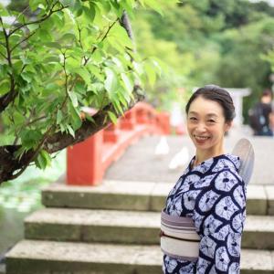 【しぐさ×フォト×ぼんぼり祭り】浴衣と団扇で日本の夏を味わう♡