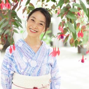 【しぐさ×フォト×向日葵】ビタミンカラーと浴衣で元気な夏♡