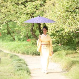 和傘を普段使いに♡お着物には和傘が似合う♡