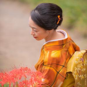 古からの長い回廊の長谷寺はお着物が似合う♡