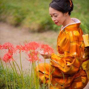 私の着物の所作しぐさは自然がテーマ♡