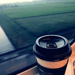 朝から大阪へ☆
