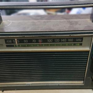 古いトランジスタラジオの修理?修理といえるのかな?