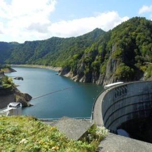豊平峡ダムへ・・ちょっと残念(;´Д`) かな?