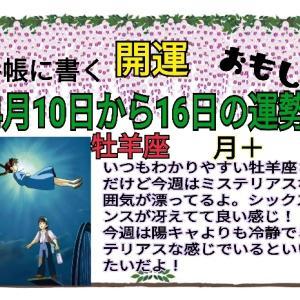 開運★12星座別5月10日~16日の運勢です。