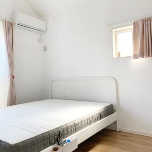梅雨の合間の快晴に寝室を掃除しました♩