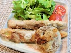 【食】肉巻茄子&肉巻椎茸