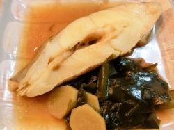 【食】カラスガレイの煮付け