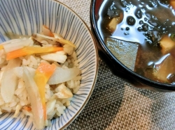 【食】五目御飯