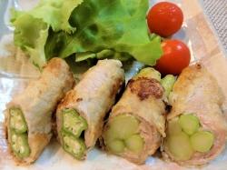 【食】肉巻野菜