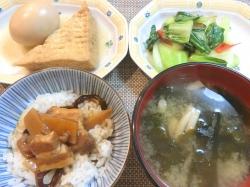 【食】滷肉飯定食