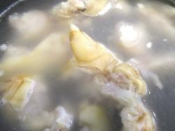 【食】茹で豚足