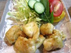 【食】鶏の柚子胡椒焼き