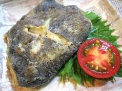 【食】カレイの唐揚げ