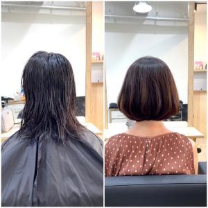 KL州ロックダウンにより半年切れなかった髪をバッサリ!