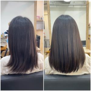 日本人の美しい黒髪を生かして