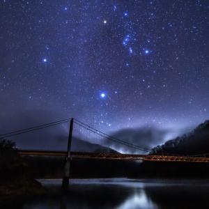 湖に映る星が美しい!!~福井県大野市の九頭竜湖で星を見てきました☆~