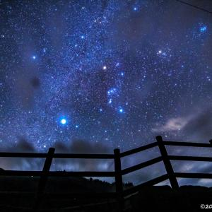 ★蝶の湖展望台の星空★