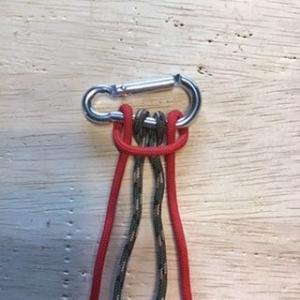 パラコード首輪の編み方