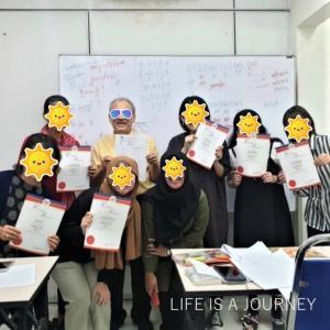 マレーシア移住14ヵ月目【AREA:KLSentral】YMCA英語12セッション修了しました♡