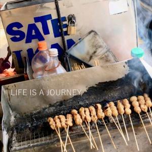 マレーシア移住23ヵ月目【AREA:Sri Petaling】初遭遇、珍しいBBQバイク&サテ♡