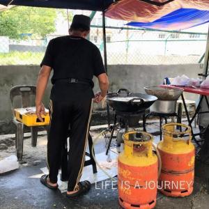 マレーシア移住23ヵ月目【AREA:SriPetaling】半年ぶり再会「揚げバナナ」おじさん♡