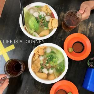 マレーシア移住3Y0M【AREA:Sri Petaling】あっさり魚頭ヌードルを新規開拓♡