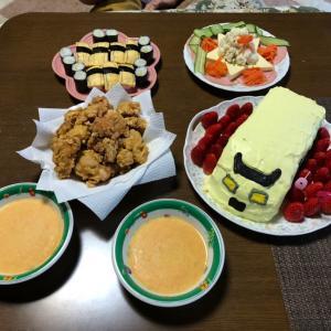 宴(料理並べただけだよ)
