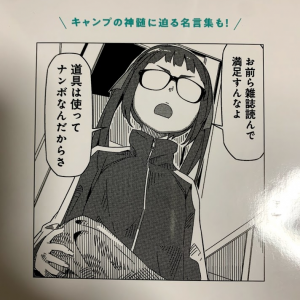 【雑記】宝島社:ゆるキャン△キャンプ道具買っちった