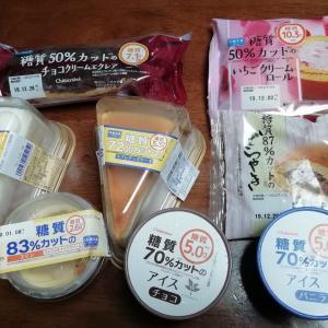 シャトレーゼの糖質カットの冷凍スイーツ(1年と286日目)