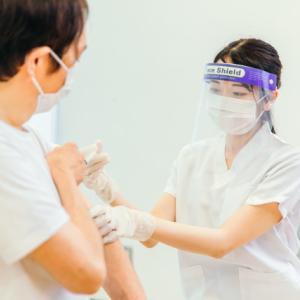 1回目のワクチン接種