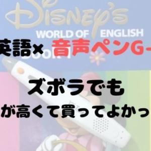 幼児英語×G-Talk(トーク)音声ペンかなりおすすめ!ズボラママでも効果絶大だった!