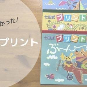幼児の家庭学習何がおすすめ?足りないところに気付く七田式プリント気に入ってます!