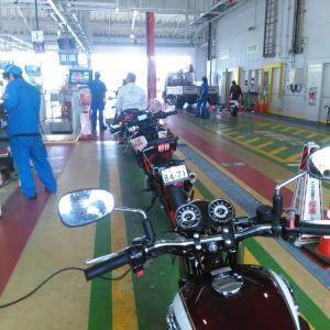 バイクのユーザー車検に行ってきました!