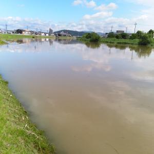 岡山はあまり雨が降っていませんが