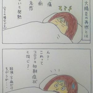 〈いつも通りだよね?〉 4コマ漫画  潰瘍性大腸炎