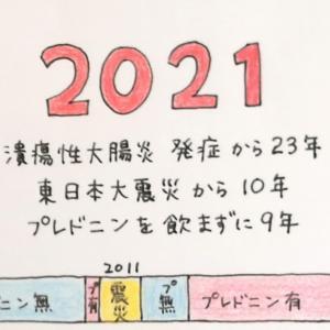 11話〈東日本大震災から10年  プレドニンをやめられた話〉潰瘍性大腸炎 漫画