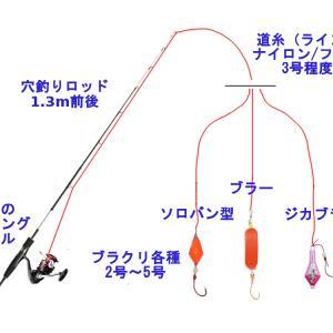 ブラクリ仕掛け ~カサゴとアイナメのブラクリ釣り~