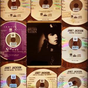 Janet Jackson's Rhythm Nation Remixes.