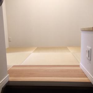 五感を満たしてくれる我が家の畳コーナー