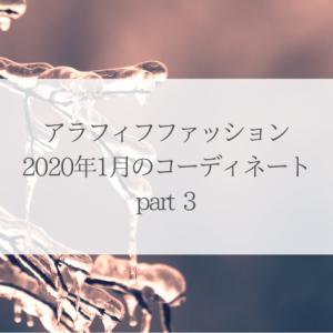 アラフィフファッション 2020年1月のコーディネート part3