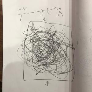 息子ちゃんのノート。