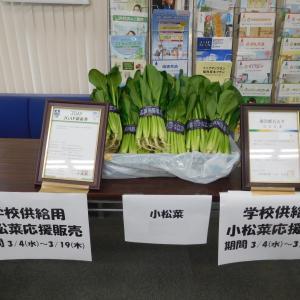 JA東京スマイル東京の支店にて、学校給食向けに出荷予定だった農産物の販売が行われています。