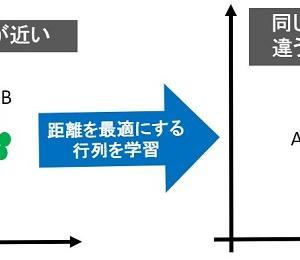 距離学習(Metric Learning)入門から実践まで